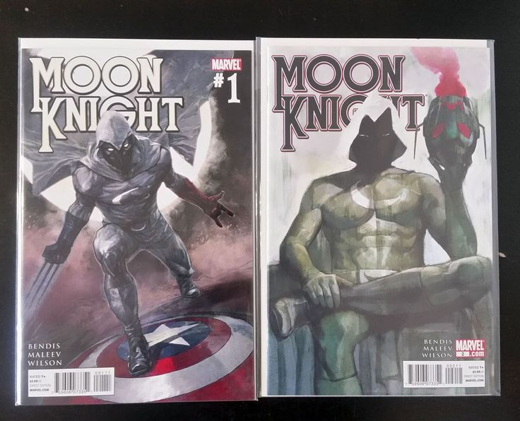 Moon Knight vol 4 #1 & #2 (2011, Marvel) NM Brian Michael Bendis Alex Maleev