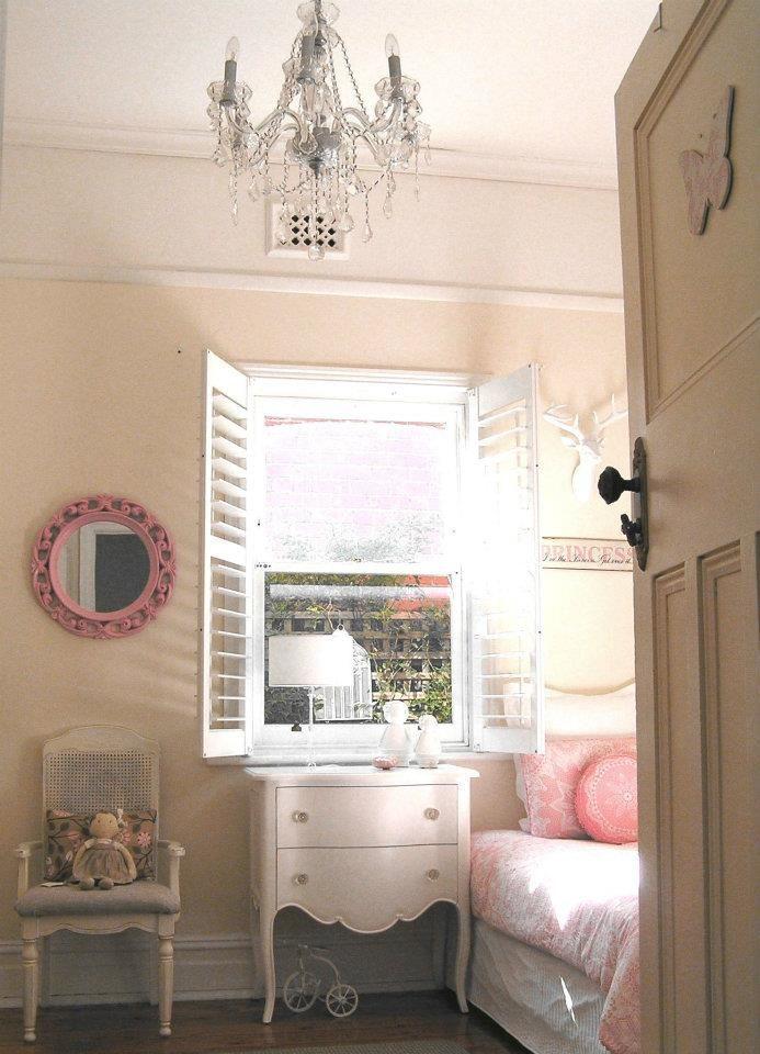 girls shabby chic french bedroom vintage pastel pink pram ...