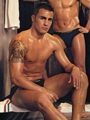 You know you can always count on the Italians for some eye candy - Fabio Cannavaro