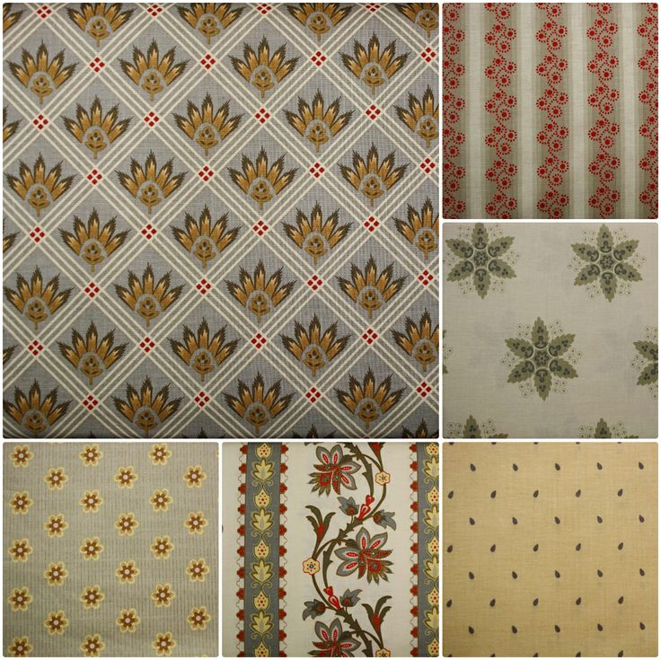 A French Courtyard range of fabrics by Sue Daley for Riley Blake Designs