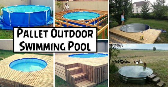 You Shouldn't Miss The Best 10 DIY Swimming Pool Projects