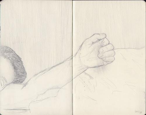 Sleeping Charming by Kaja Zalokar (moleskine)