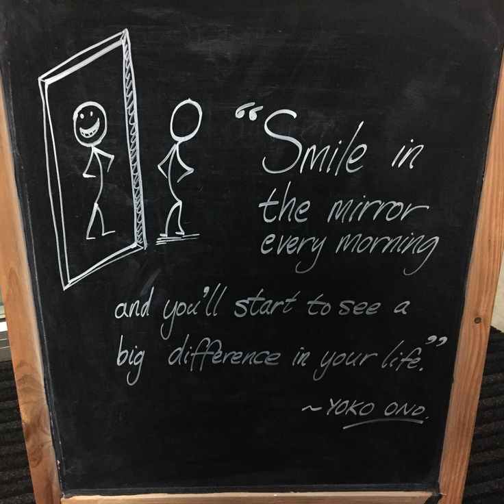 """""""Smile in the mirror every morning and you'll start to see a big difference in your life."""" ~ Yoko Ono"""
