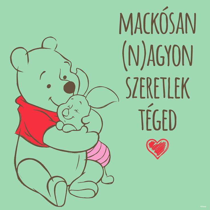Micimaci Malackának: Mackósan (n)agyon szeretlek téged