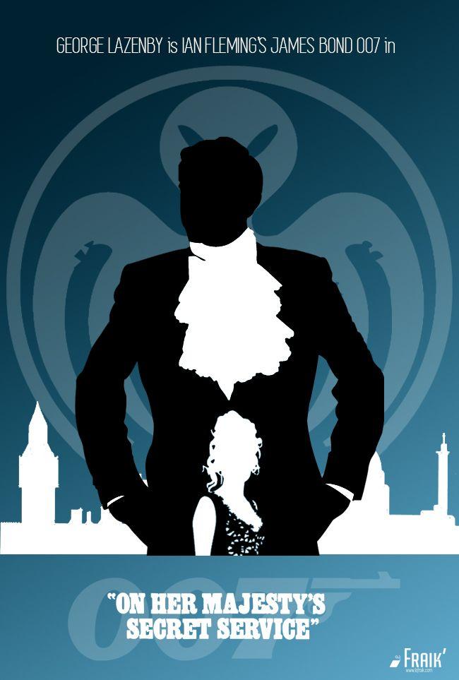 James Bond - Poster Special SPECTRE Edition - On Her Majesty's Secret Service