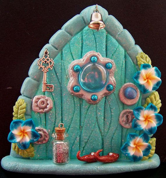 Fairy Door  Herculite by CharmedFairyDoors on Etsy, £9.00