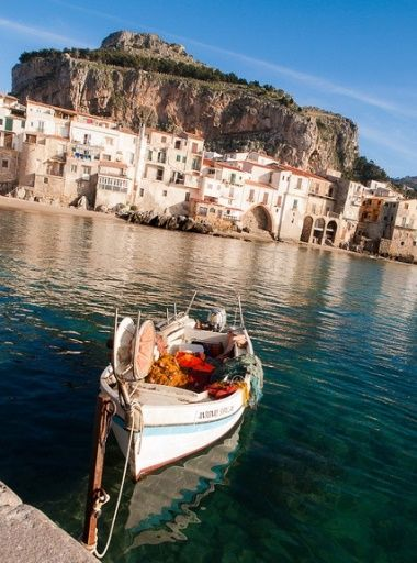 Cefalù, Sicily, Italy | 12 of the world's most beautiful beaches.