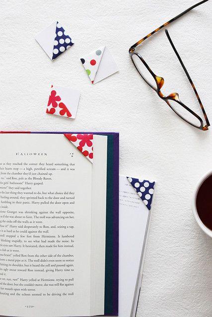 折り紙で簡単に作れちゃう おしゃれなしおりの作り方
