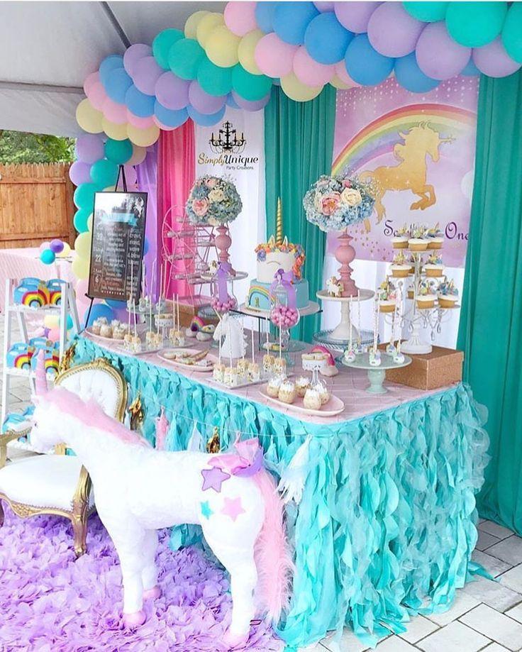 578 besten unicorn deine einhorn kindergeburtstags party - Einhorn party ideen ...