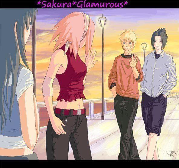 Naruto ja Sakura dating fanfiction