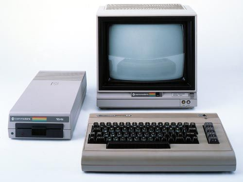 The 80's Commodore 64 - My first time using a computer was on my Grandpa's Commodore!