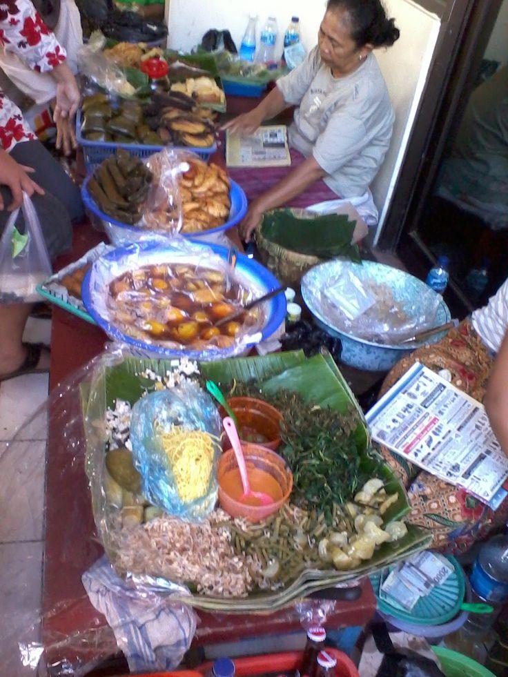 Sambel Asem, Cirebon Traditional Food. West Java Indonesia