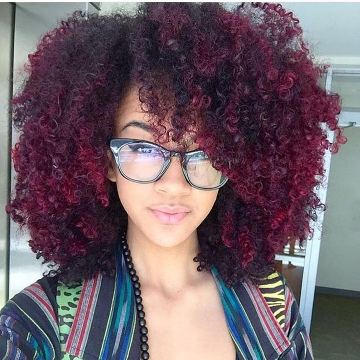 25 Best Ideas About Dyed Natural Hair On Pinterest  Colored Natural Hair B