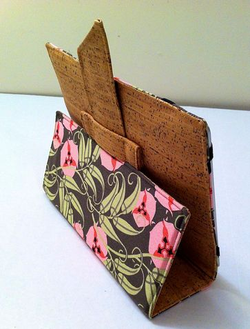 Cork iPad Case by Sew Spoiled (Inspiration)