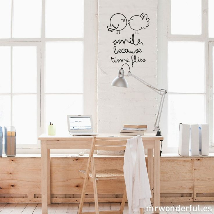 Brighten up your home with this vinyl wall decal