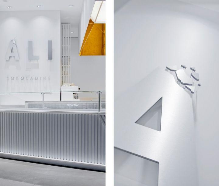 Ali Chocolate Boutique by a01 architektai, Vilnius – Lithuania » Retail Design Blog