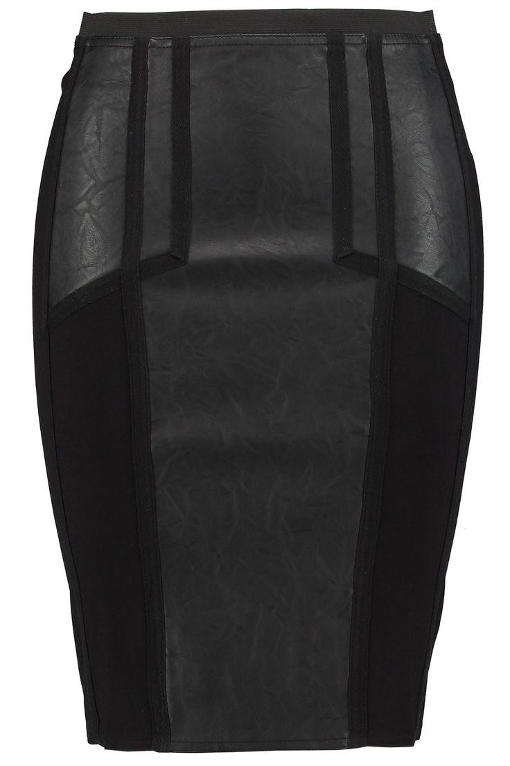 Leather skirt | Fashion | Plussize fasion | Rok