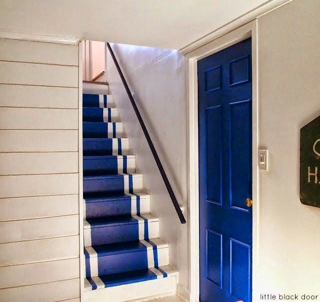Shiplap Diy Stairs Painted Stairs House Stairs