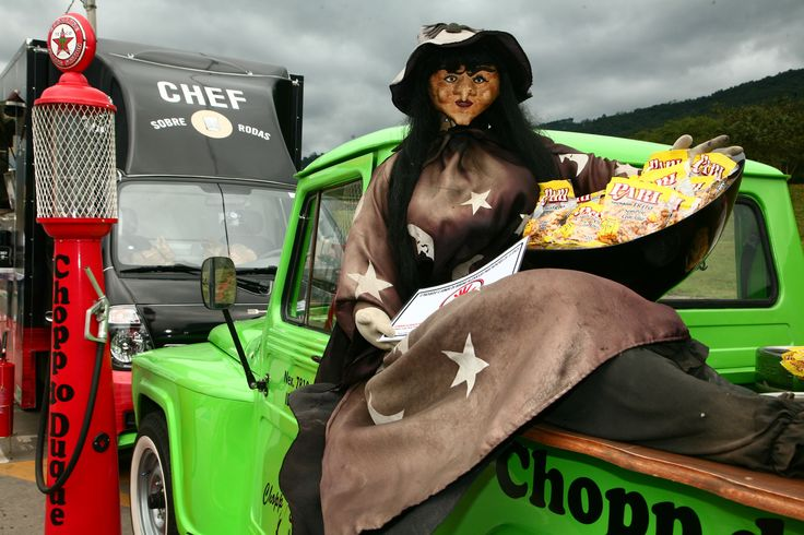 Chopp Express trouxe a bruxa