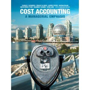 t is not difficult to understand every detail of any chapter of cost accounting in the textbook when you quickly practice our sample test bank for Cost Accounting A Managerial Emphasis 6th Canadian Edition by Horngren. The test bank according to textbook content includes concise questions along with available answers as follows.