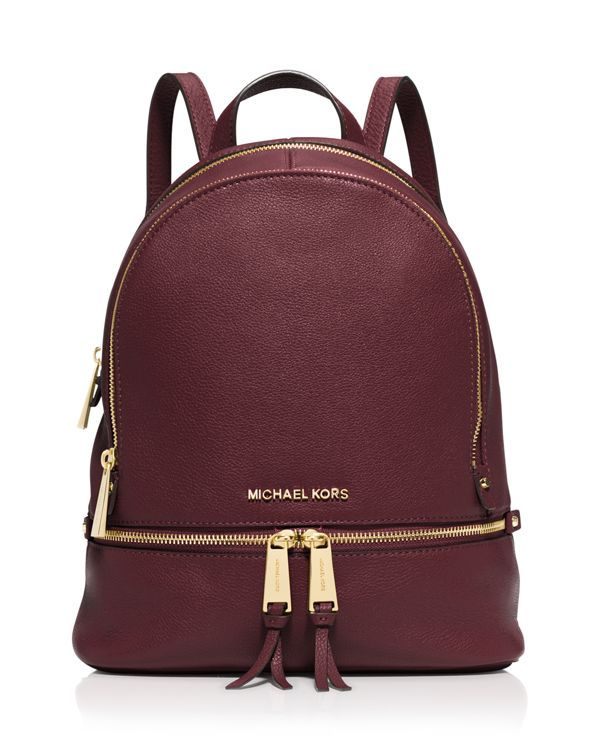 Michael Michael Kors Small Rhea Zip Backpack