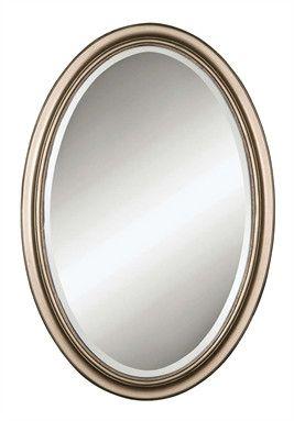 Petite Manhattan Oval Mirror