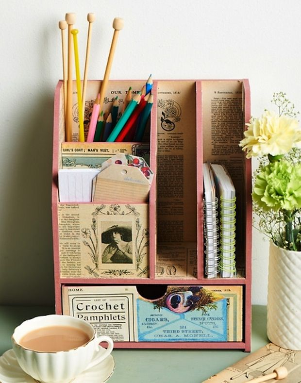 Homemaker magazine celebrates our nation s history by upcycling old  magazines to create this unique Desk Tidy. 25  unique Vintage diy ideas on Pinterest   Vintage bedroom decor
