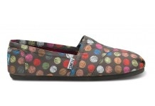Toms.: Polka Dots, Fashion, Style, Tom Shoes, Dot Toms, Dots Ash, Hand Drawn, Vegan Classic