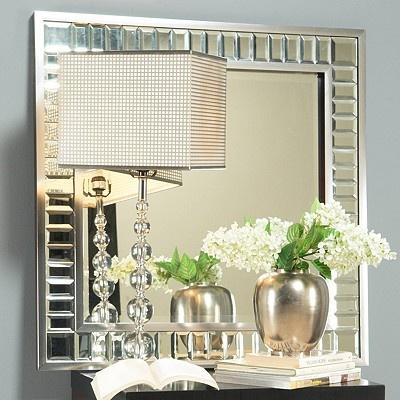 Reception Hallway decor/idea...I like a mirror!!