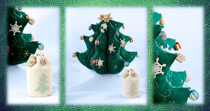 Елочка с игрушками,  Автораская работа / The Christmas tree with toys, Interior decoration. The work of authorship