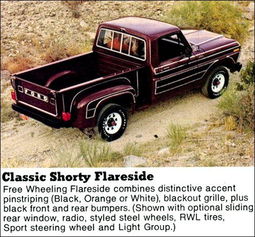 Ford F150 Shorty 78 Freewheelibg Package Google Search Ford