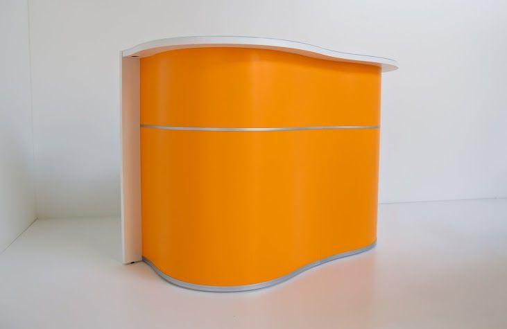 Orange WAVE # reception desk