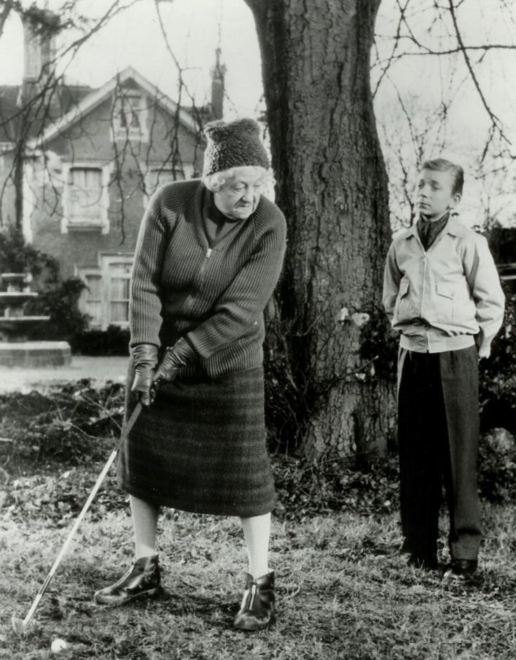 Dame Margaret Rutherford playing a blinder as a swinging 1960s Miss Marple in Murder She Said