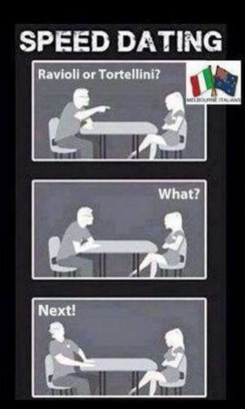 speed dating italian american