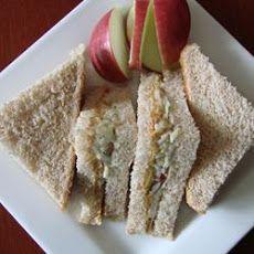 Peanut Butter and Apple Sandwich