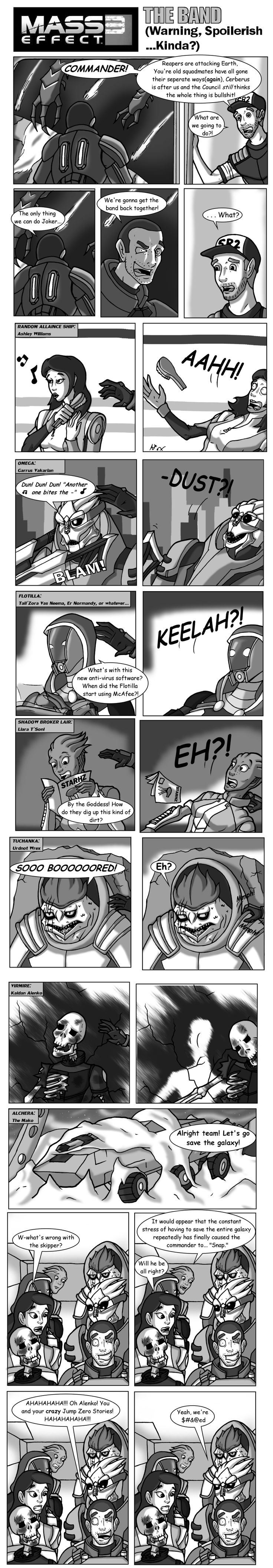 Mass Effect 3 The Band by HGuyver on DeviantArt