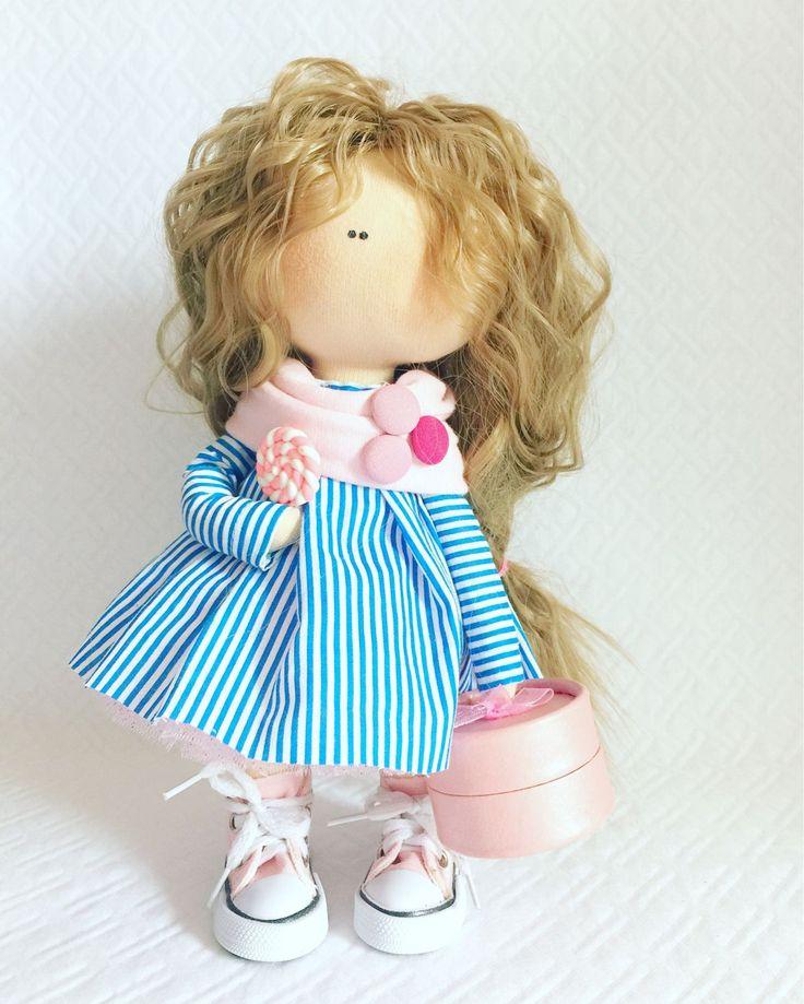 Купить Интерьерная кукла - кукла ручной работы, кукла, кукла в подарок, кукла…
