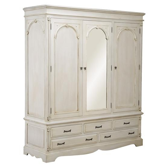 Victorian 3 Door Wardrobe - Bedroom