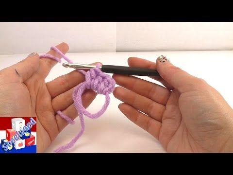 magische ring | magische ring haken | eenvoudig begin voor een muts |rondjes haken | tweede versie - YouTube