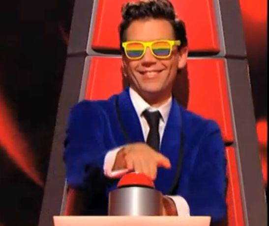 Mika on the Voice - hotness:p
