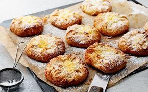Wienerbröd med vaniljkräm - Recept - Arla