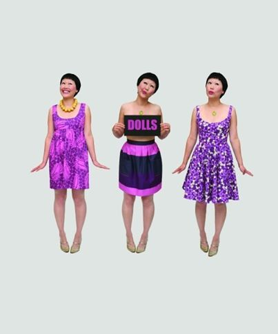 Spring summer 2008, Dixie Grey. Purple was hot this year