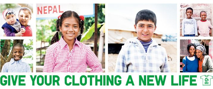 GIVE YOUR CLOTHING A NEW LIFE