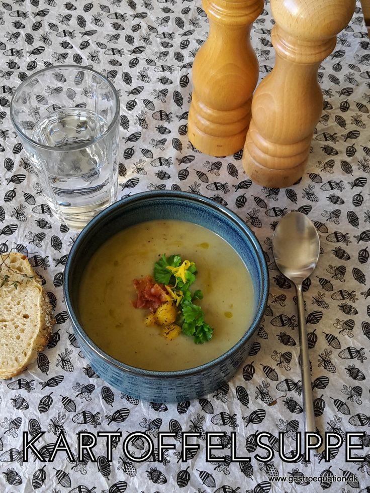 Enkel og lækker low fodmapvenlig kartoffelsuppe, der varmer godt på en kold dag. Laktosefri og glutenfri med et tvist af selleri og porre.