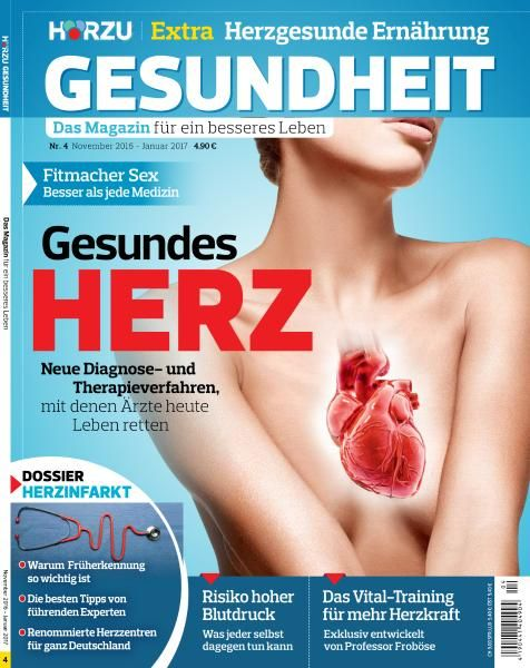 Hörzu Gesundheit - November 2016 - Januar 2017