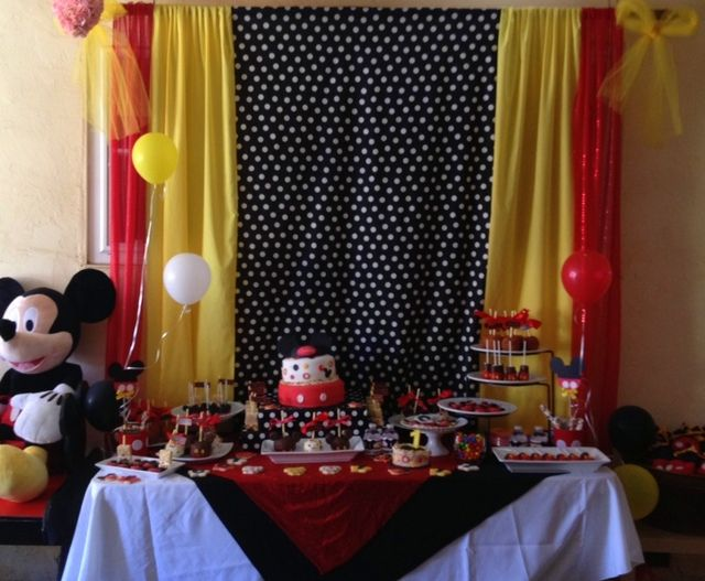 Mickey Mouse Birthday Party Ideas | Photo 11 of 23 | Catch My Party