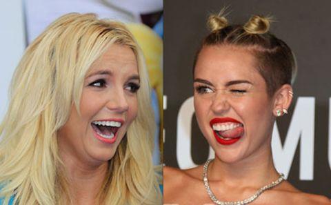 Francia censura los videos de Britney Spears y Miley Cyrus para evitar que los niños se traumaticen.