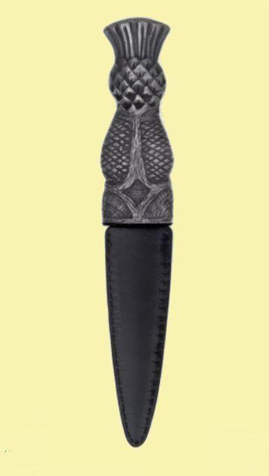 For Everything Genealogy - Scottish Thistle Handle Leather Sheath Sgian Dubh, $90.00 (https://www.foreverythinggenealogy.com.au/scottish-thistle-handle-leather-sheath-sgian-dubh/)