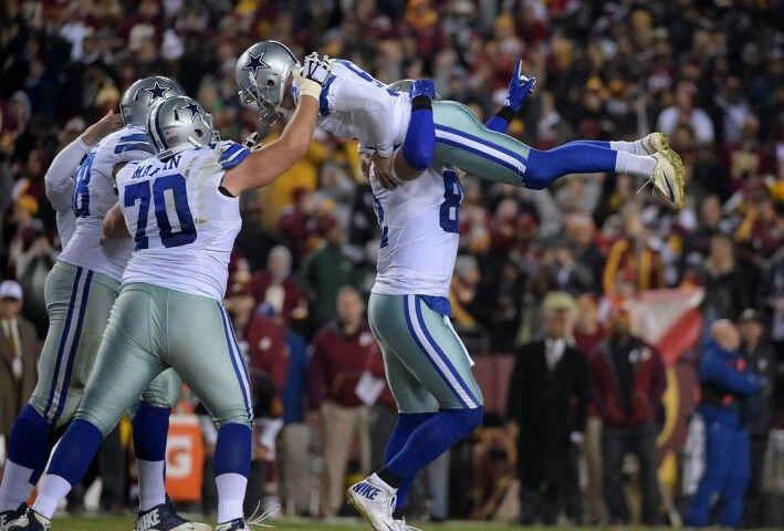 Dan Bailey for the Dallas Cowboys win vs Washington Redskins