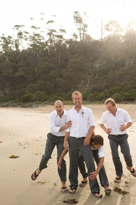 61 Stylish Beach Wedding Groom Attire Ideas   HappyWedd.com